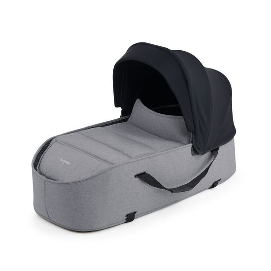 Connect Carrycot Grey Melange